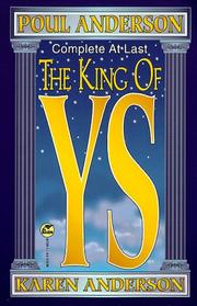 Cover of: The king of Ys by Poul Anderson, Karen Anderson