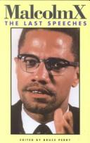 Cover of: Malcolm X by Malcolm X