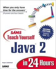 Cover of: Sams Teach Yourself Java 2 in 24 Hours by Rogers Cadenhead