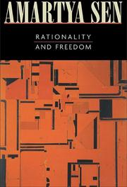 Cover of: Rationality and Freedom by Amartya Sen