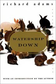Cover of: Watership Down by Richard Adams