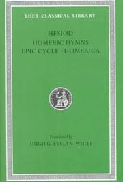Cover of: Hesiod by Hesiod