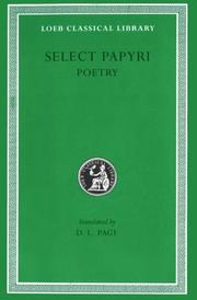 Cover of: Literary papyri--poetry by Denys Lionel Page