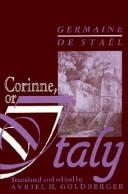 Cover of: Corinne by Madame de Staël