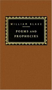 Cover of: Poems by William Blake