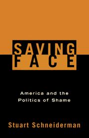 Cover of: Saving Face by Stuart Schneiderman