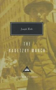 Cover of: Radetzkymarsch by Joseph Roth