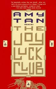 Cover of: The Joy Luck Club by Amy Tan