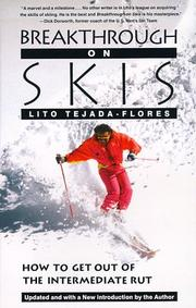 Cover of: Breakthrough on skis by Lito Tejada-Flores