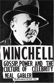 Cover of: Winchell by Neal Gabler