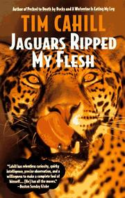 Cover of: Jaguars ripped my flesh by Tim Cahill