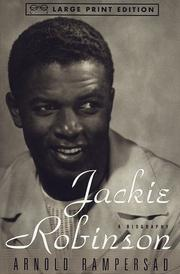 Cover of: Jackie Robinson by Arnold Rampersad