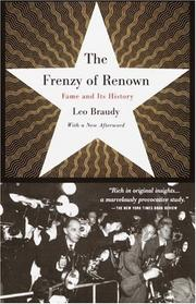 Cover of: The frenzy of renown by Leo Braudy