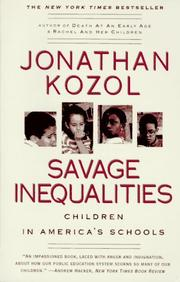 Cover of: Savage Inequalities by Jonathan Kozol