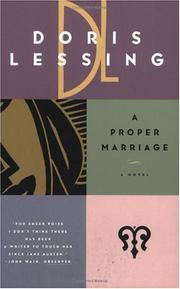 Cover of: A proper marriage by Doris Lessing