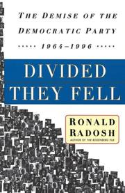 Cover of: Divided They Fell by Ronald Radosh