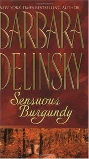 Cover of: Sensuous Burgundy by Barbara Delinsky