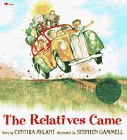 Cover of: The Relatives Came by Cynthia Rylant