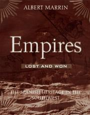 Cover of: Empires lost and won by Albert Marrin