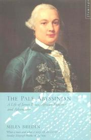 Cover of: The Pale Abyssinian by Miles Bredin