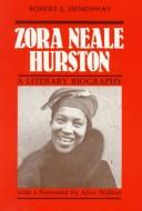 Cover of: Zora Neale Hurston by Robert E. Hemenway