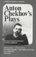 Cover of: Plays by Anton Chekhov