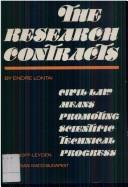 Cover of: The research contracts by Lontai, Endre.