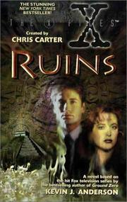 Cover of: Ruins (The X-Files) by Kevin J. Anderson