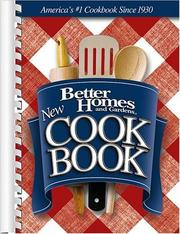 Cover of: New Cook Book by Better Homes and Gardens
