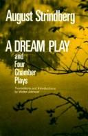 Cover of: Plays by August Strindberg