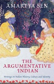 Cover of: The Argumentative Indian by Amartya Sen