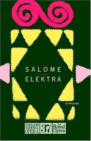 Cover of: Salome by Richard Strauss