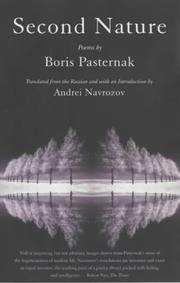Cover of: Second nature by Boris Leonidovich Pasternak