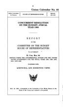 Cover of: Operation of the Superfund program by United States. Congress. House. Committee on Commerce. Subcommittee on Finance and Hazardous Materials.