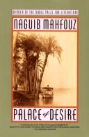 Cover of: Palace of Desire by Naguib Mahfouz