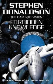 Cover of: Forbidden Knowledge (Gap) by Stephen R. Donaldson