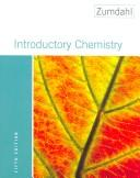 Introductory Chemistry, Media Update 5e Paperback w/o student support package Steven S. Zumdahl