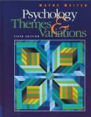 Cover of: Psychology by Wayne Weiten