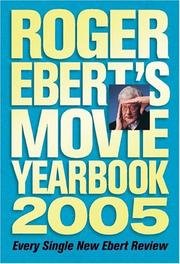 Cover of: Roger Ebert's Movie Yearbook 2005 by Roger Ebert