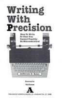 Cover of: Writing with precision by Jefferson D. Bates