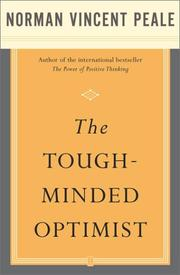 Cover of: The Tough-Minded Optimist by Norman Vincent Peale