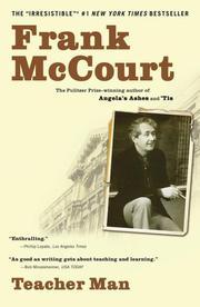 Cover of: Teacher Man by Frank McCourt