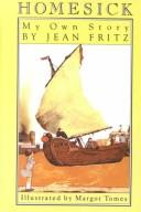 Cover of: Homesick by Jean Fritz