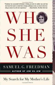 Cover of: Who She Was by Samuel G. Freedman