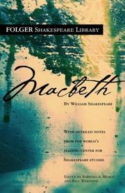 Cover of: Macbeth by William Shakespeare