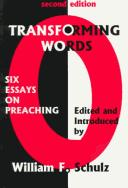 Cover of: Transforming Words by William F. Schulz