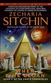 Cover of: When Time by Zecharia Sitchin