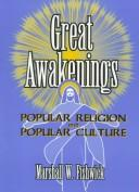 Cover of: Great Awakenings by Marshall William Fishwick