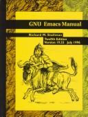Cover of: Gnu Emacs Manual by Richard M. Stallman