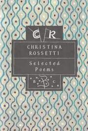 Cover of: Selected Poems by Christina Georgina Rosetti